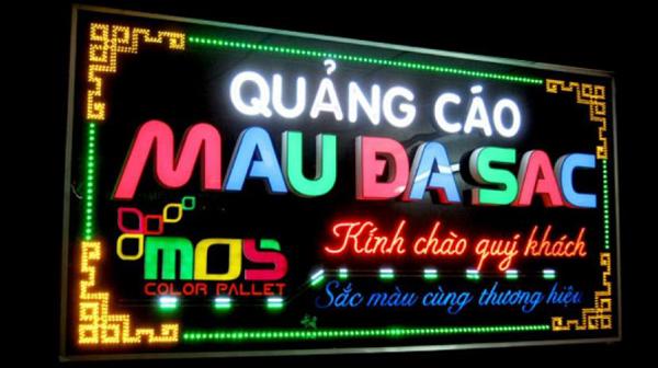 Dịch vụ làm biển quảng cáo biển LED