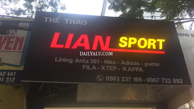 Công trình làm biển quảng cáo tại Hà Nội